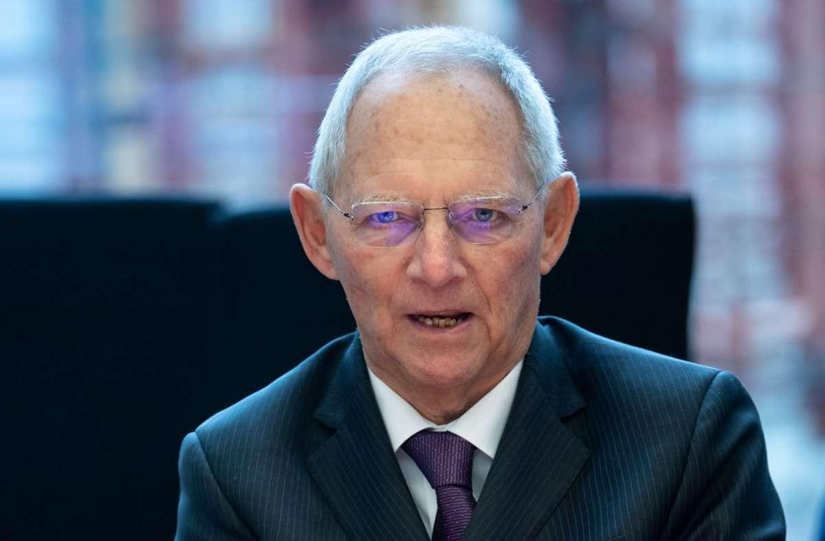 Wolfgang Schäuble sieht genau wie Jens Spahn prinzipiell nichts gegen eine Frauenquote sprechen. Foto: dpa/Bernd von Jutrczenka