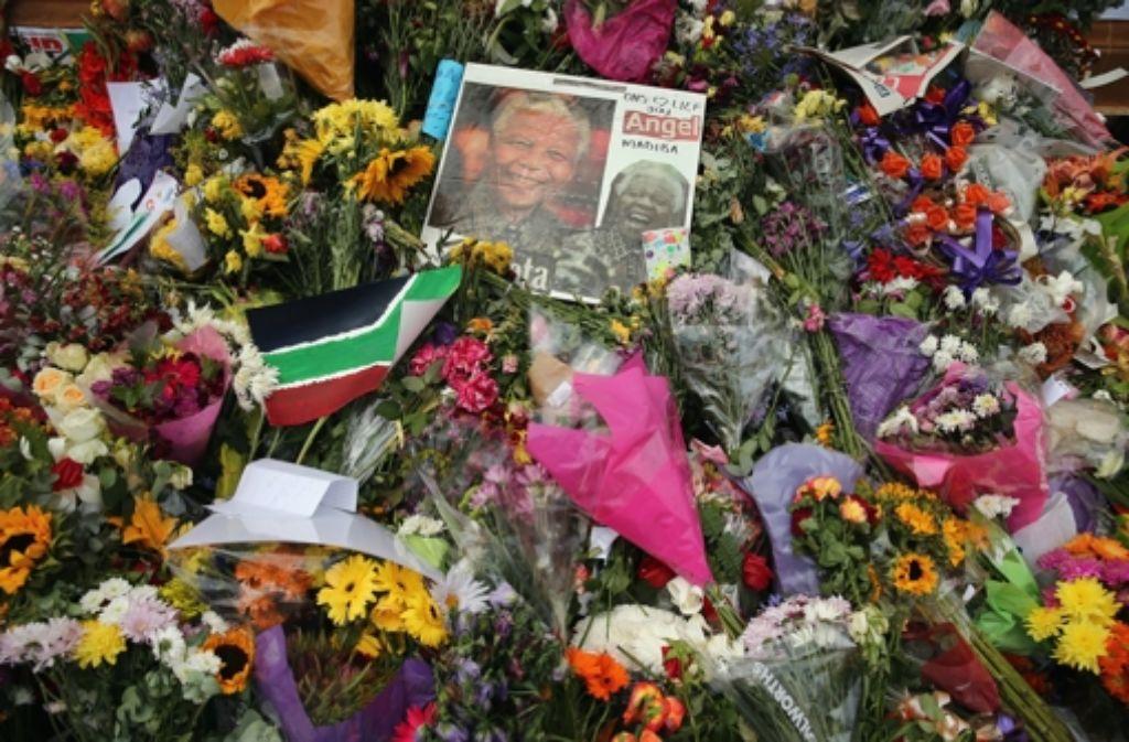 Der südafrikanische Friedensnobelpreisträger Nelson Mandela war am Donnerstag nach langer Krankheit im Alter von 95 Jahren gestorben.  Foto: Getty Images Europe