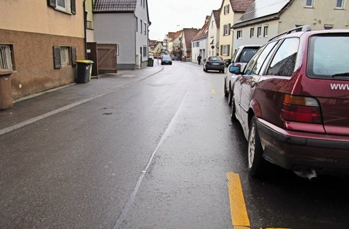Stadt sichert Gehweg