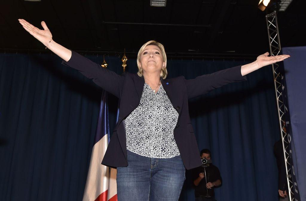 Frankreichs Staatschef François Hollande hat vor einem Sieg der rechtsextremen Kandidatin Marine Le Pen bei den Präsidentschaftswahlen gewarnt. Foto: AFP