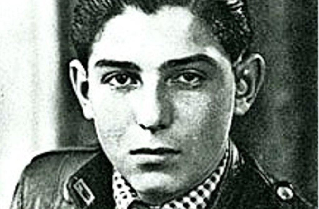 Samuel Pisar als junger Mann. Foto: privat