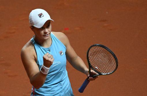 Ashleigh Barty dreht das Match gegen Karolina Pliskova