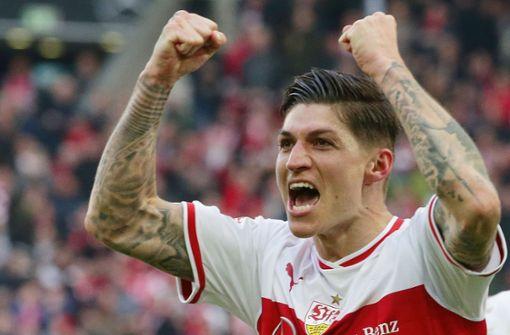 VfB und Hoffenheim teilen sich die Punkte