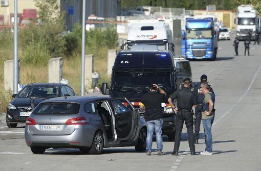 Katalonische Polizei dem Terror auf der Spur