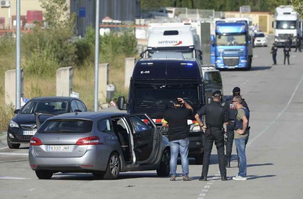 Die katalanische Polizei hat nach dem Anschlag von Barcelona den mutmaßlichen Attentäter Younes Abouyaaqoub erschossen. Foto: AFP