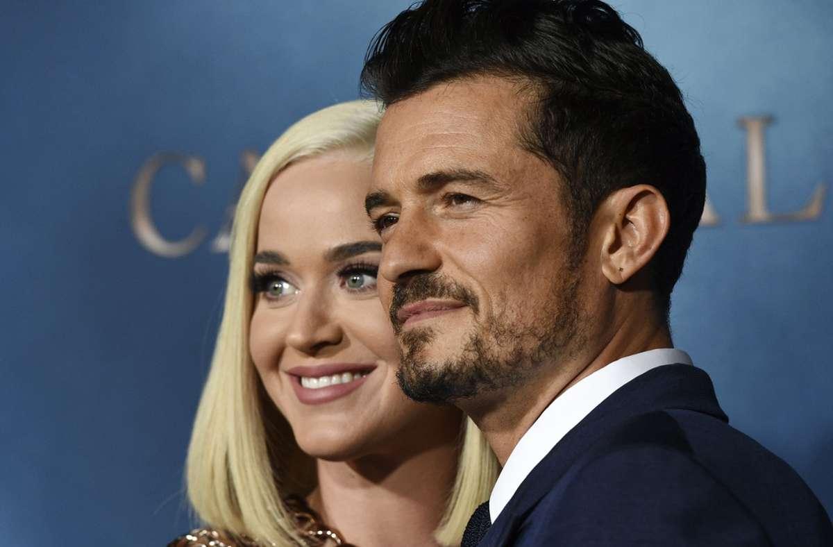 Katy Perry und Orlando Bloom sind Eltern geworden. (Archivbild) Foto: dpa/Chris Pizzello