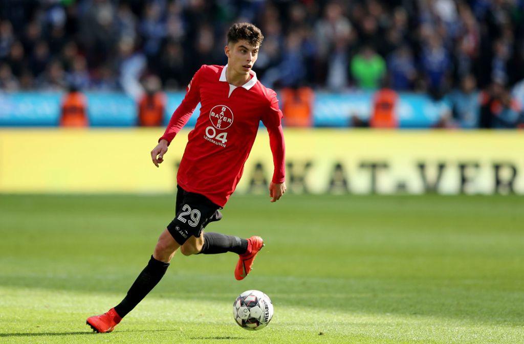 Bleibt Bayer treu: Kai Havertz bleibt in Leverkusen Foto: Getty