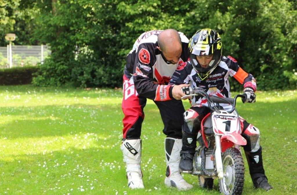 Tipps von Profis gab es für junge Motorrad-Fans. Foto: privat