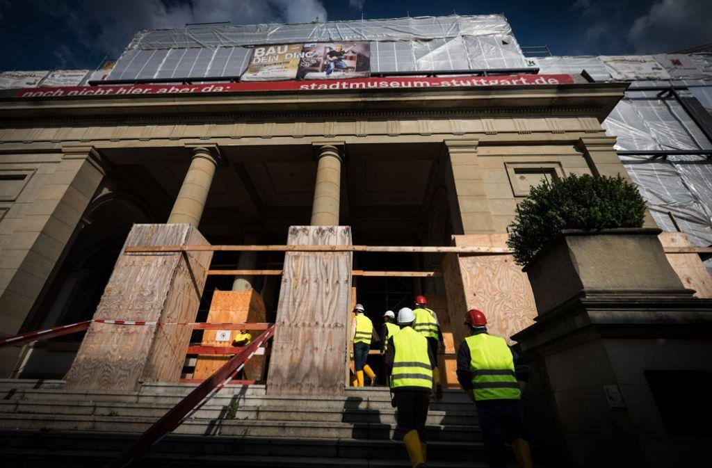 Im Gemeinderat wird erneut die Frage nach dem Konzept des Stadtmuseums gestellt. Foto: Lichtgut/Achim Zweygarth