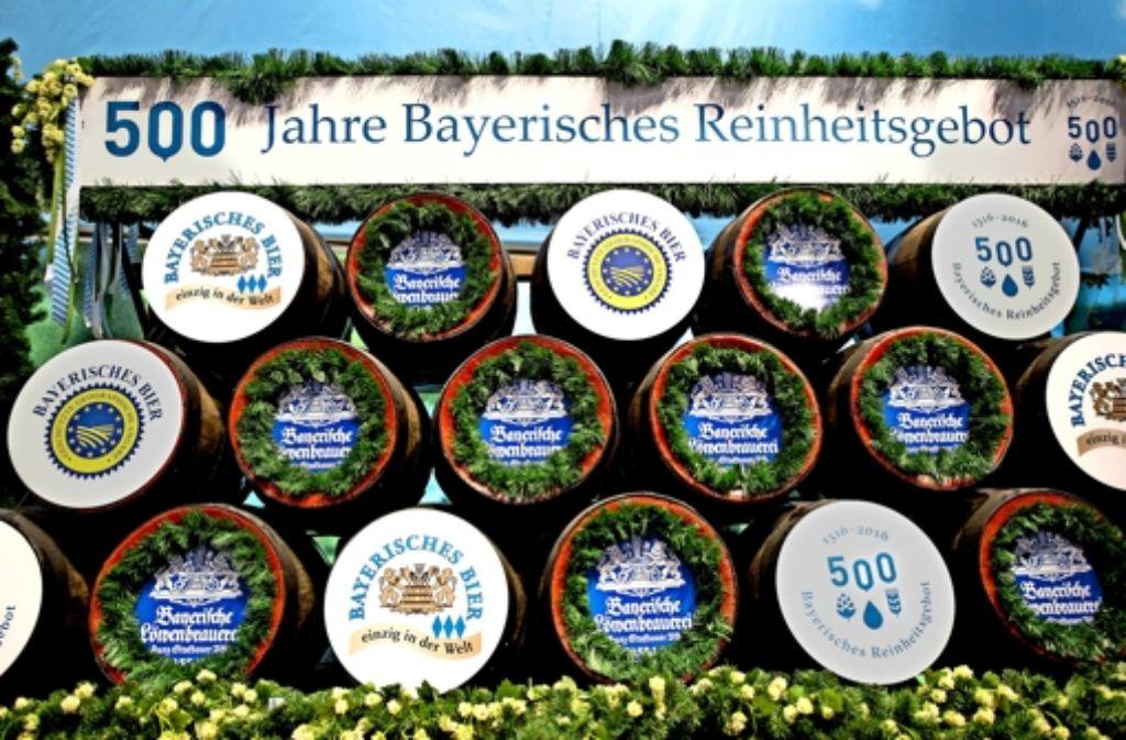 Das bayerische Reinheitsgebot wurde 1516 in Ingolstadt erlassen. Foto: imago