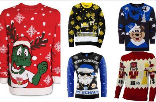 Das sind die schrägsten Ugly Christmas Sweater der Bundesliga