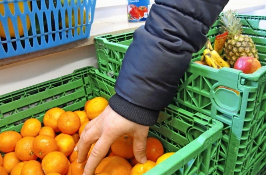 In den Läden der Fildertafel können Bedürftige Foto: Malte Klein