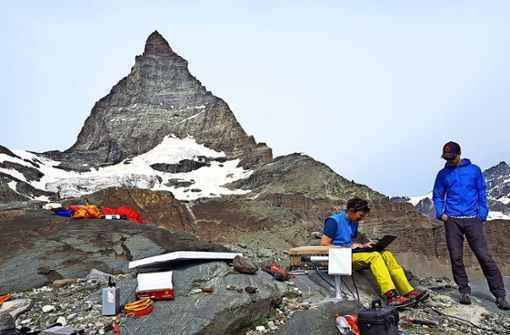 Das Matterhorn kränkelt