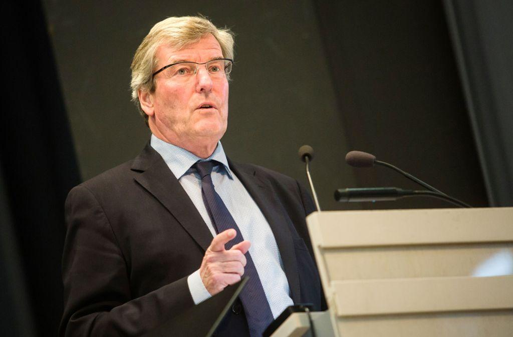 Will es Regionalpräsident  Thomas Bopp bei der Wahl  doch wieder wissen? Foto: Lichtgut/Christoph Schmidt