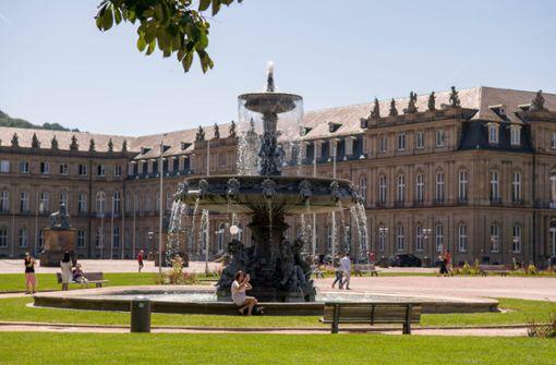Warum die Schlossplatz-Webcam  nur ein altes  Bild zeigt
