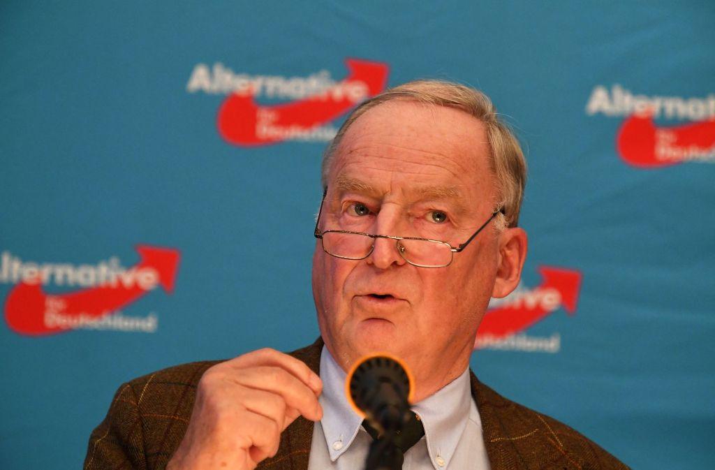 AfD-Vize Gauland fordert, stolz auf die Leistungen in Weltkriegen zu sein