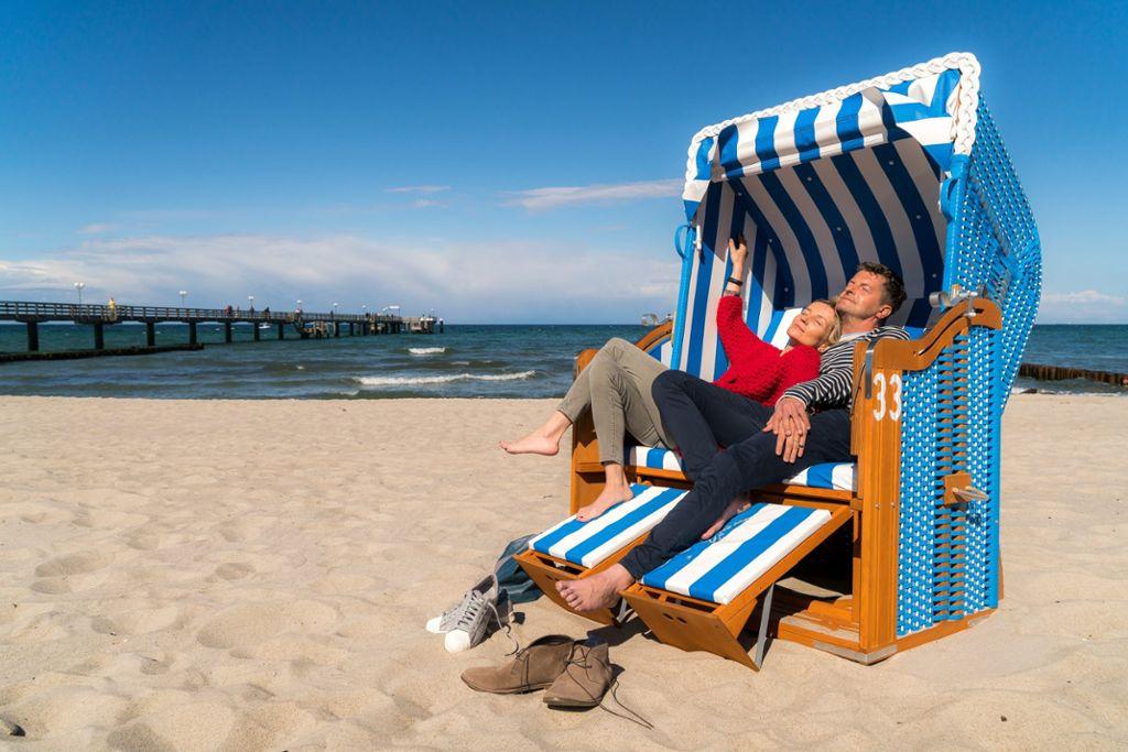In nur 30 Minuten vom Flughafen an den Strand  Foto: Flughafen Rostock-Laage-Güstrow GmbH