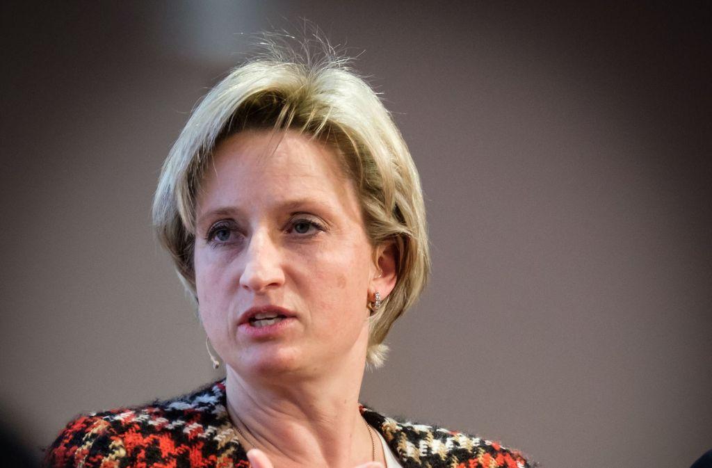 Wirtschaftsministerin Nicole Hoffmeister-Kraut will Innovation fördern. Foto: Lichtgut/Achim Zweygarth