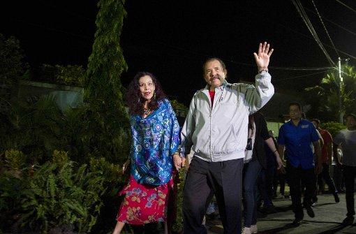 Ortega zum Sieger der Präsidentenwahl erklärt