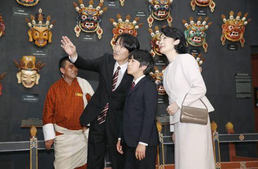 Seltener Auftritt des Prinzen Hisahito