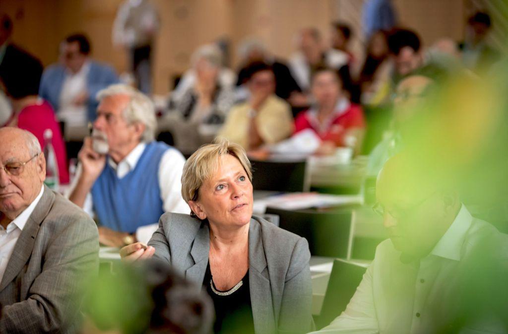 Kultusministerin Susanne Eisenmann, die Spitzenkandidatin für die Landtagswahl werden soll,  sieht Defizite bei der CDU in Sachen Klimaschutzpolitik. Foto: Lichtgut/Julian Rettig