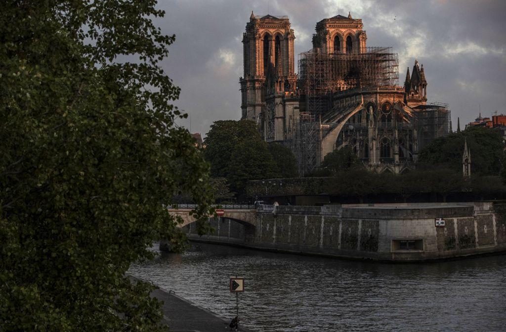 Seine, Île de la Cité – ganz eindeutig, das ist Notre-Dame in Paris und nicht der Kölner Dom. Foto: Getty Images Europe