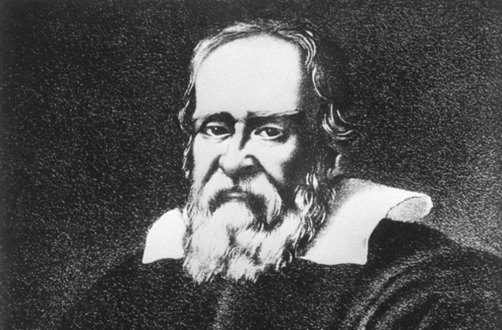 Der Mathematiker und Astronom Galilei – gezeichnet von einem Zeitgenossen. Foto: AP
