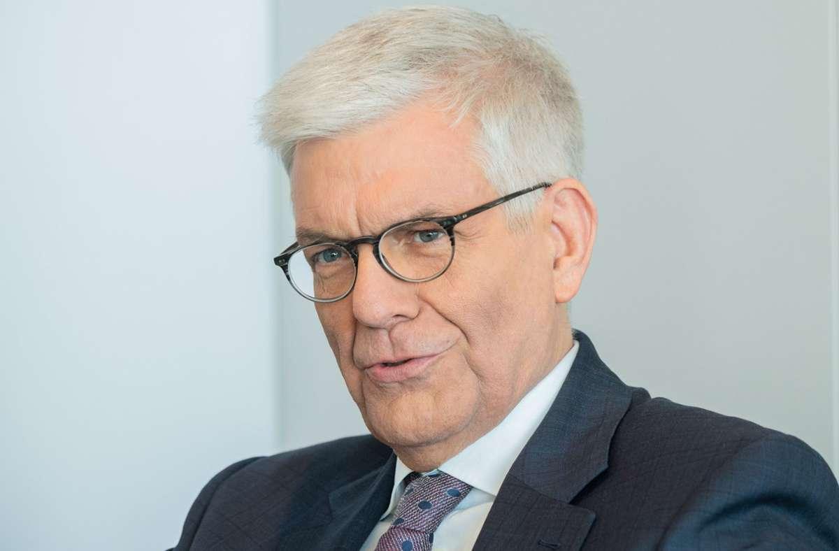 ZDF-Intendant Thomas Bellut härt nach seiner zweiten Amtszeit im März 2022 auf. Foto: dpa/Andreas Arnold