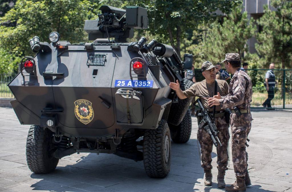 Nach dem missglückten Putsch in der Türkei sind tausende Menschen inhaftiert worden. Foto: Getty Images Europe