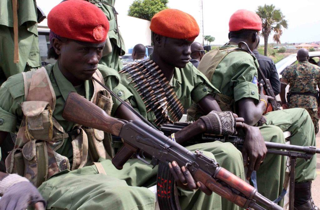 Zwei Fraktionen des Militärs im Südsudan befehden sich gegenseitig. Foto: EPA FILE