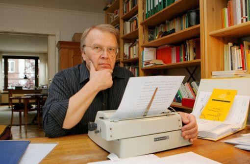 In Mannheim geborener Schriftsteller ist tot