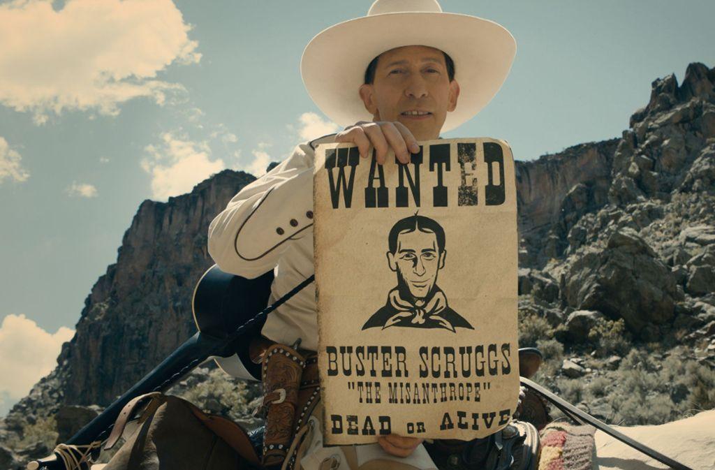 "Tim Blake Nelson in ""The Ballad of Buster Scruggs"" Foto: Netflix"