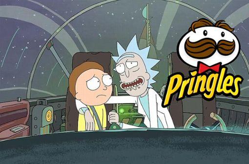 """Pringles"" bringt ""Rick and Morty""-Chips auf den Markt"