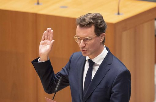 Hendrik Wüst zum neuen Ministerpräsidenten  gewählt
