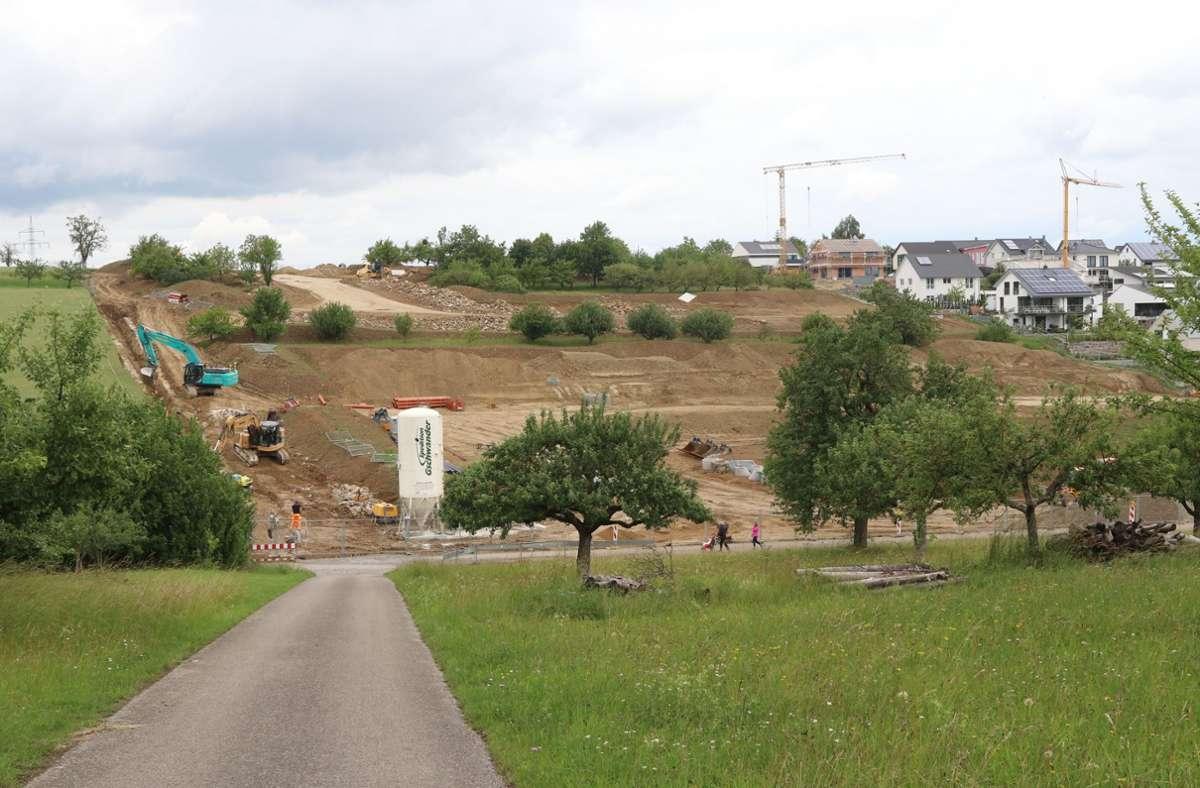 Die Erschließung des zweiten Bauabschnitts des Neubaugebiets Frischegrund kostet rund 700 000 Euro. Foto: Andreas Gorr