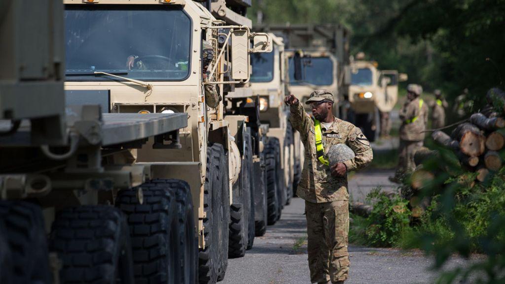 US-Truppenabzug könnte auch Stuttgart treffen