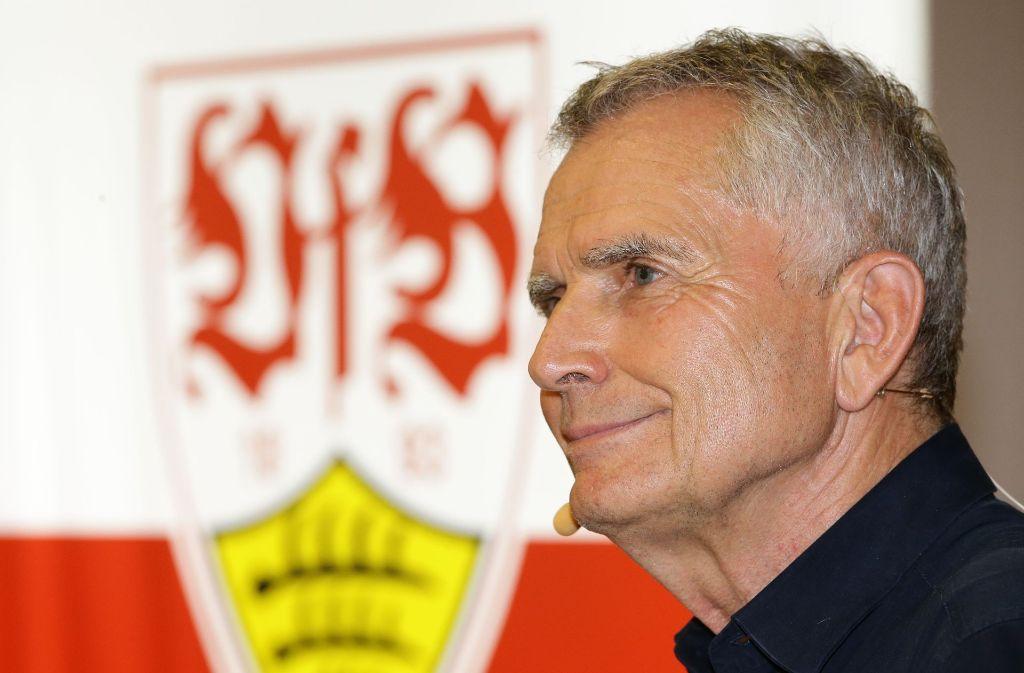 In der Vergangenheit haben einige Präsidenten den VfB Stuttgart geprägt. Foto: Pressefoto Baumann