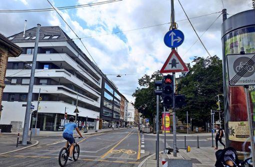 Die Durchwurstelei auf der Tübinger Straße