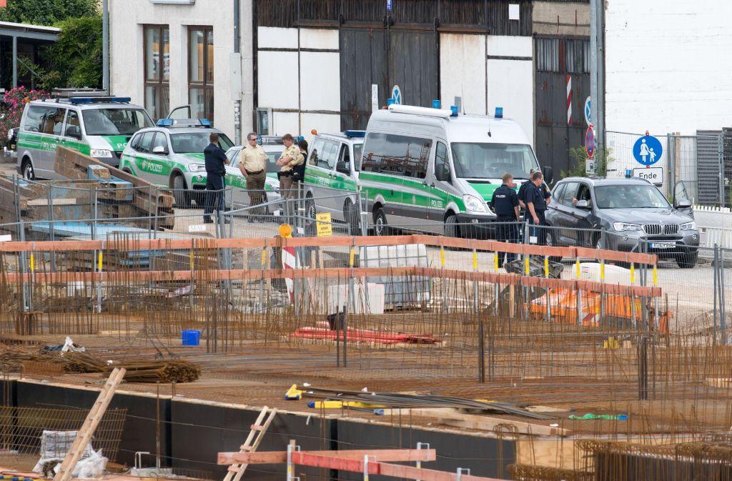 In Regensburg wurde am Samstag eine Fliegerbombe entschärft. Foto: dpa