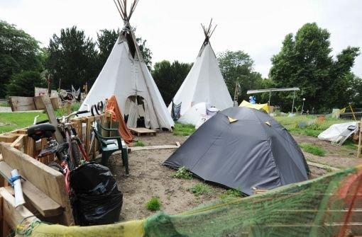 S21-Camper zapfen illegal Leitung an
