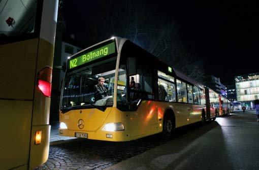 Nachtverkehr soll ausgebaut werden