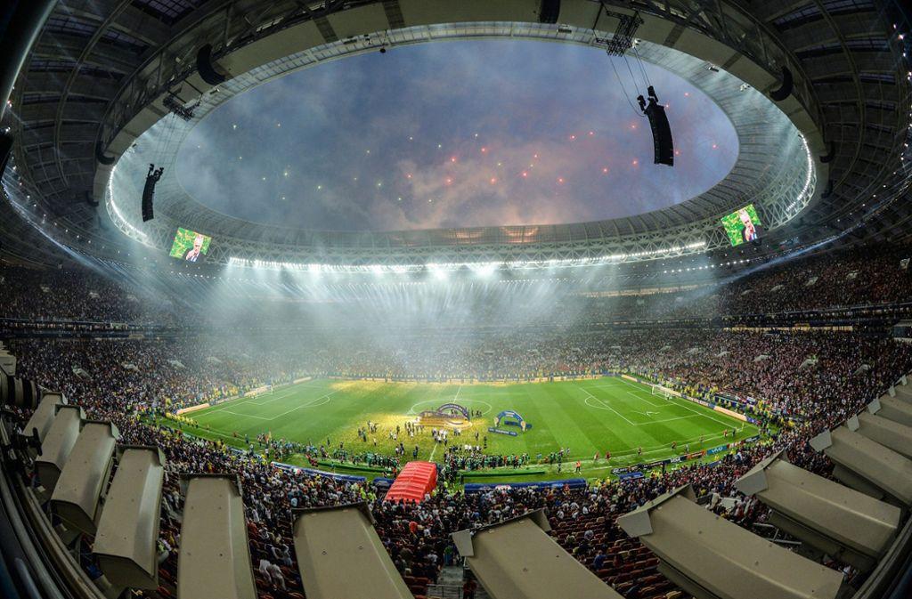 Die WM in Russland konnte ohne Zwischenfälle stattfinden – doch es sollen Anschläge geplant gewesen sein. Foto: NOTIMEX