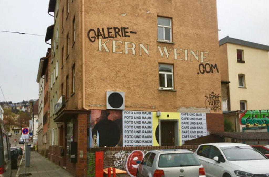 Die Galerie Kernweine eröffnet am Freitag. Foto: Florentine Möhrle