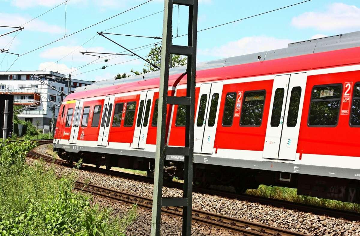 Entlang der S-Bahn-Strecke in Leinfelden-Echterdingen mehren sich unter den Anliegern kritische Stimmen Foto: Archiv Natalie Kanter