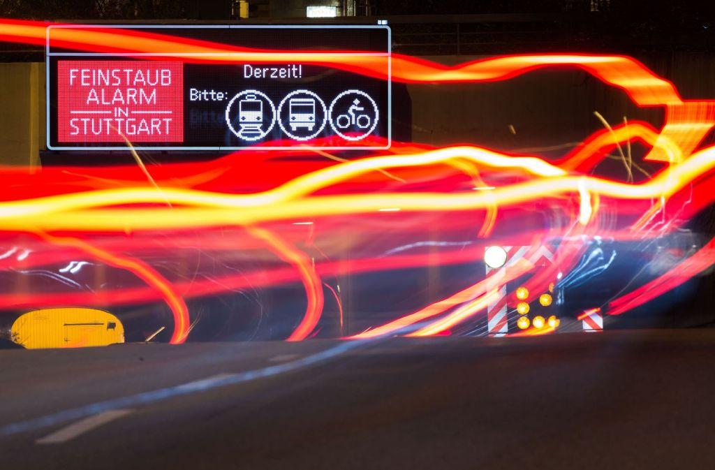 Stuttgart löst ab Samstag Feinstaubalarm aus (Symbolbild). Foto: dpa