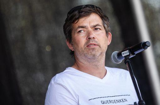Organisator Michael Ballweg kündigt überraschend Rückzug  an