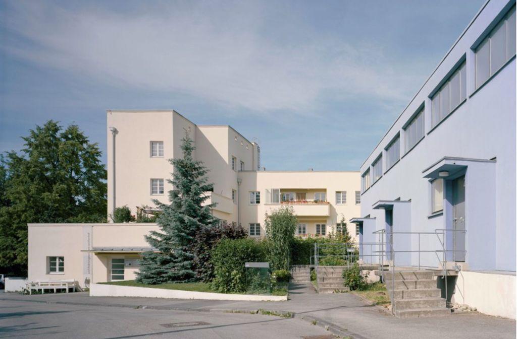 Das Terrassenhaus des Architekten Peter Behrens am Weissenhof Foto: González/Weissenhof-Museum