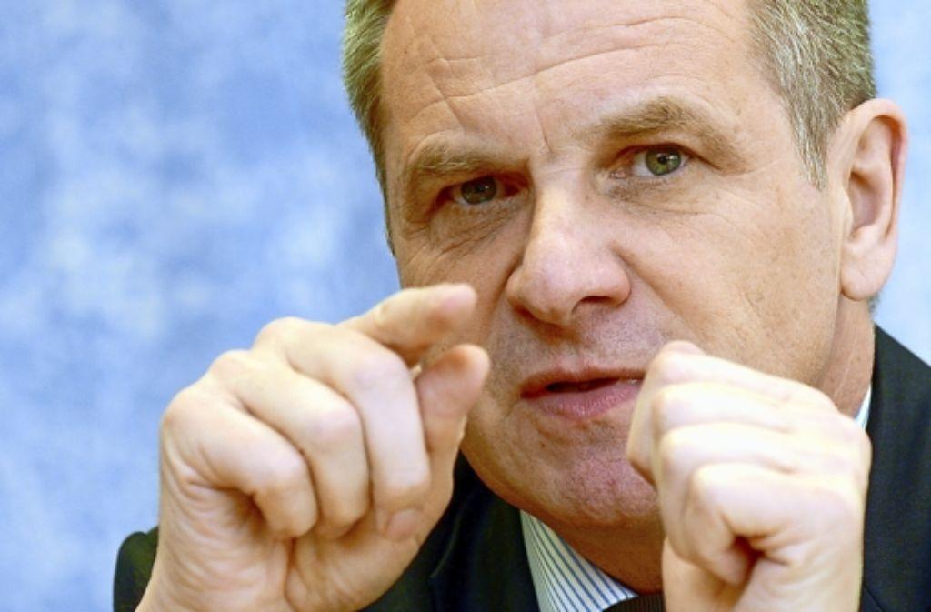 Innenminister Reinhold Gall (SPD) Foto: dpa