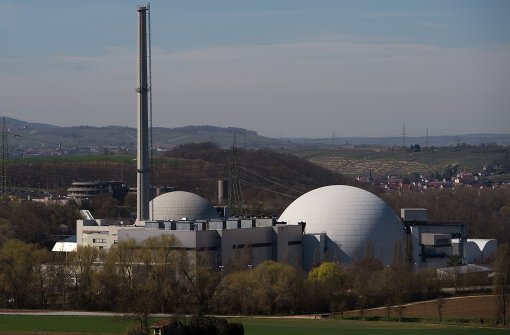 Das Atomkraftwerk Neckarwestheim Foto: dpa