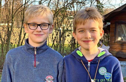 Elfjährige Jungs werden zu Vorbildern